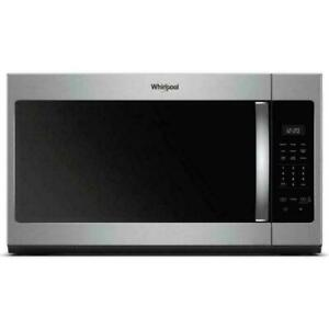 Whirlpool WMH31017HZ 1.7CF over The Range Microwave Stainless Steel