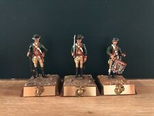 Tom Connolly:  Continental Marines, 1776.  Studio Painted 54mm Metal Figures