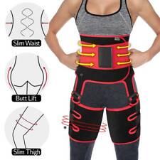 3-in-1 Waist Trainer Thigh Trimmer Butt Lifter Leg Wrap Shaper Slimming Belt Hot