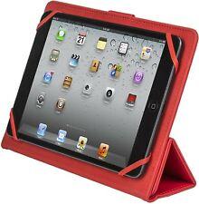 "RivaEtui 3114 - Housse Universal pour tablettes 8"" Folio Rouge iPad mini"