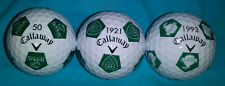 3 New Collectible Callaway Chrome Soft Truvis Golf Balls Rare