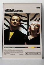 Lost in Translation - Sofia Coppola - Vintage Retro Minimalist Movie - No Frame