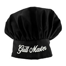 Personalized Black Chef Hat Monogrammed Chef Hat High Quality Stitching