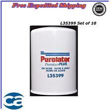 Oil Filter Set of 10 For 01/16 Chevrolet Silverado 3500 GMC Sierra 3500HD 6.6L