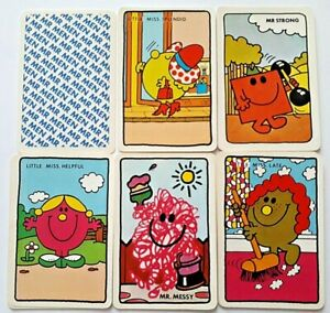 VINTAGE PLAYING CARDS GAME LITTLE MISS SPLENDID OLD MAID HARGREAVES 1983 36 CARD