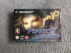 Perfect Dark N64 Game Boxed