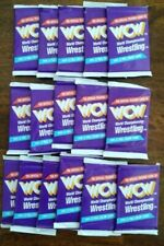 1991 WCW trading cards 16 unopened packs