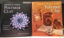 Book Lot Polymer Clay Daddy Mcmillan Catherine Duncan Aimone