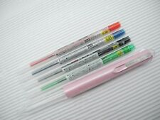 4 refill Body P.Pink NEW UNI-BALL style-fit 0.38mm rollerball pen with B&L&R&G