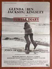 Affiche TURTLE DIARY John Irvin GLENDA JACKSON Ben Kingsley 40x60cm