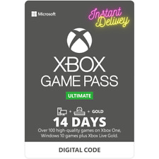 14 Day Game Pass ULTIMATE Code Includes XBOX LIVE | XBOX ONE / PC |  | INSTANT