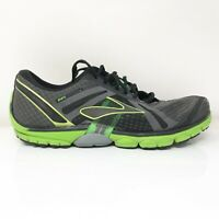 Brooks Mens Pure Cadence 1101101D085 Grey Green Running Shoes Lace Up Size 11 D