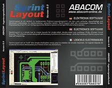 Layout SPRINT 6.0 - design PCB/abacom-elettronica-software