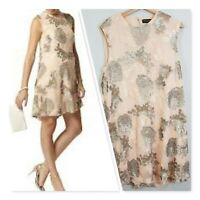 [ DOROTHY PERKINS ] Womens Sequins Dress   Size AU 16 or US 12