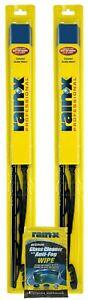 "Rain-X 18"" Professional Wiper Blades with Rain-X Glass Wipe Bundle"