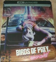 Birds of Prey et la fantabuleuse histoire de Harley Quinn 4k Steelbook - NEUF