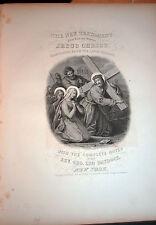 THE NEW TESTAMENT OF OUR LORD & SAVIOUR JESUS CHRIST LATIN VULGATE DUNIGAN 1861
