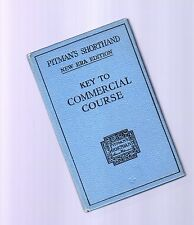 key to commercial course - (manuale di stenografia commarciale inglese) 1936