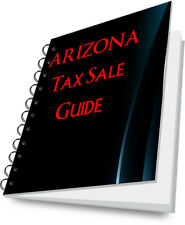 ARIZONA Tax Lien Certificate Tax Sale Guide NEW!