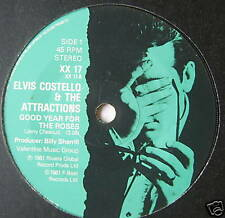 "ELVIS COSTELLO - Good Year For The Roses - Ex 7"" Single"
