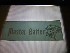 MASTER BAITER VINYL STICKER