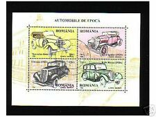 0697++ROUMANIE   BLOC  VOITURES  1996  N°2