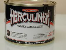 Herculiner HCL1B7 Quart Ready To Use Do It Yourself Roll On Truck Bed Liner