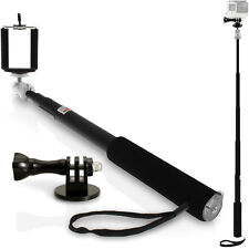 Extendable Selfie Monopod Stick Adaptor Mount Go Pro Hero Session 5 4 3+ 3 2 1