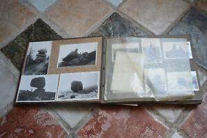 Ancien Album 236 Photos Voyages Vacances France Montage et Autre Années 1930
