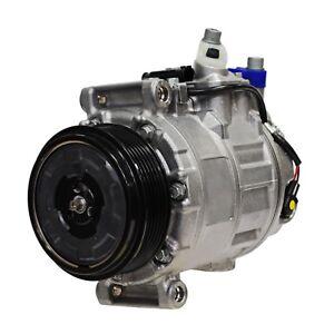 A/C Compressor With Clutch DENSO Mercedes For W203 W209 W215 W220 CL500 S430 S55