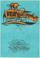 THE GREAT WALDO PEPPER Orig. Czech Artistic A3 Movie Poster 1975 ROBERT REDFORD