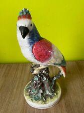 Statue en céramique perroquet 24 cm