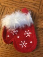 Christmas Mitten Ornament