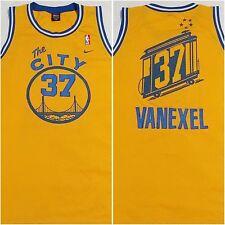 RARE Nick Van Exel Golden State Warriors Jersey XXL Nike Swingman Authentic