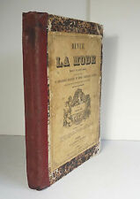 Revue de la Mode 1857-1858 26 Issues 20 Colored Plates French Fashion Dresses