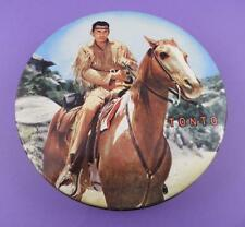 Tonto - The Lone Ranger TV Series - Original 1960s Huntley & Palmer Biscuit Tin