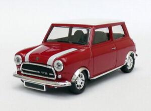 Solido 1/43 Scale Model Car S28320 - Mini Cooper - Red/White