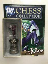 DC COMICS CHESS FIGURE COLLECTION ISSUE 2 THE JOKER EAGLEMOSS FIGURINE +MAGAZINE