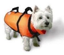 Orange Fido Float Dog Swim Life Vest -  Size Small