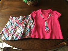 gymboree Smart and Sweet Girls 2PC Outfit Sz 6