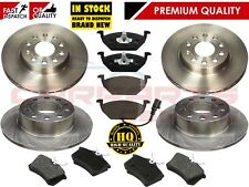 FOR VW GOLF MK5 1.4 1.6 2005-2009 OE QUALITY FRONT REAR BRAKE DISCS PADS PAD SET