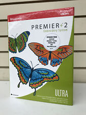 HUSQVARNA VIKING PREMIER+2 ULTRA EMBROIDERY SOFTWARE NEW IN BOX FREE SHIPPING
