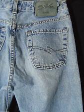 SILVER JEANS vintage 27x30 Medium wash Denim straight leg Designer Western wear