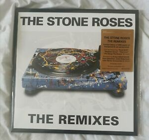 The Stone Roses: THE REMIXES - LIMITED EDITION CLEAR + RED SWIRL DOUBLE VINYL