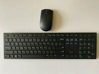 Dell Wireless Keyboard WK636 & Wireless Mouse combo,Black-Receiver Not Included