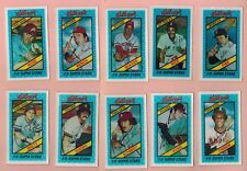 Kellogg's Baseball cards. 1979 and 1980. Clean, No cracks. Pick your own player