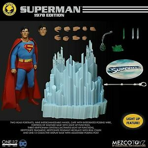 Mezco Superman 1978 Edition Christopher Reeve ONE:12 COLL. (Authorized Dealer)
