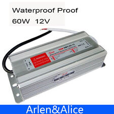 60W 12V 5A Waterproof outdoor Single Output Switching power supply AC TO DC