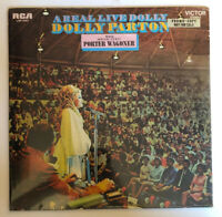 Dolly Parton - A Real Live Dolly - Factory SEALED 1970 US 1st Press Promo