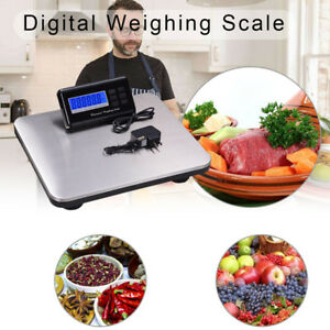 300kg Heavy Duty Digital Postal Parcel Scales Platform Postage Shipping Weighing